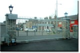 Galvanised Commercial Automated Gates.