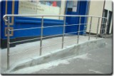 Stainless Steel Handrail.(Disability Access)