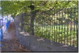 Wrought Iron Railings to Enclose Apartment Block. (Appian Way, Dublin)